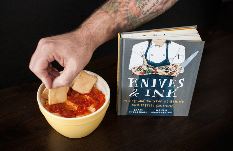 Smoked Gouda and Hot Pepper Spread from Knives and Ink