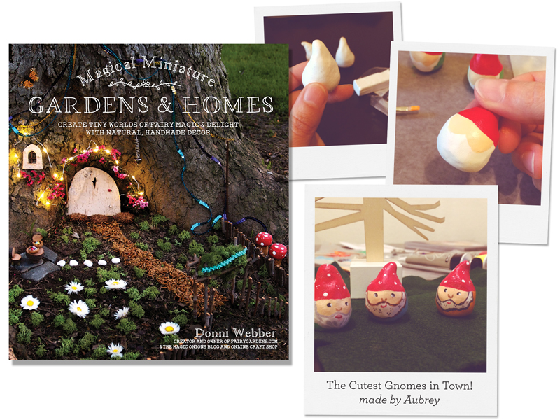 The Cutest Gnomes in Town! from Magical Miniature Gardens & Homes