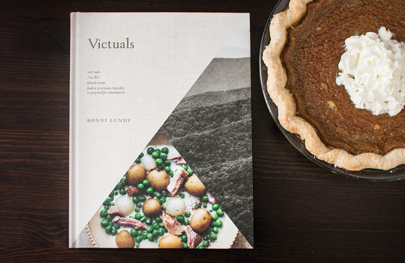 Brown Sugar Buttermilk Pie from Victuals by Ronni Lundy