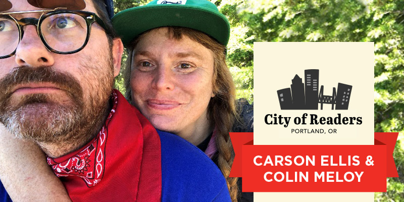 City of Readers: Carson Ellis and Colin Meloy