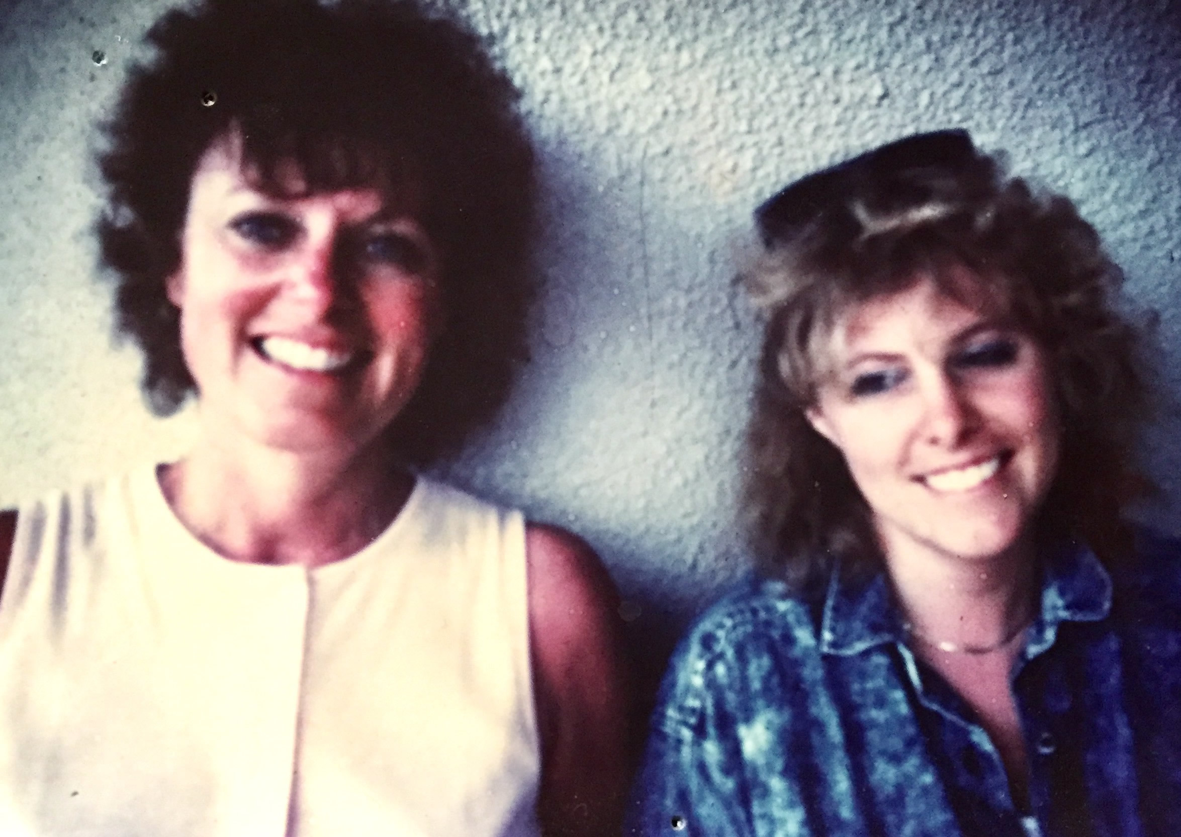 Photo: Jenny Forrester and her mom.