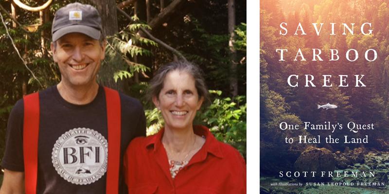 Saving Tarboo Creek by Scott Freeman and Susan Leopold Freeman