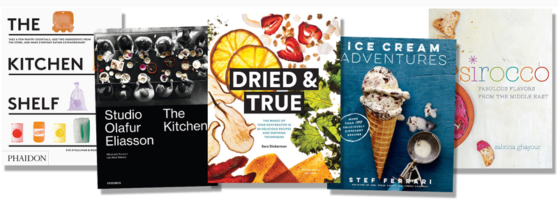 The Kitchen Shelf, Studio Olafur Eliasson: The Kitchen, Dried & True, Ice Cream Adventures, Sirocco