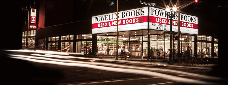 Powell's Books City of Books on Burnside