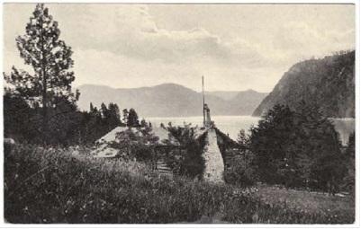 John and Carrie Leiberg's homestead cabin.