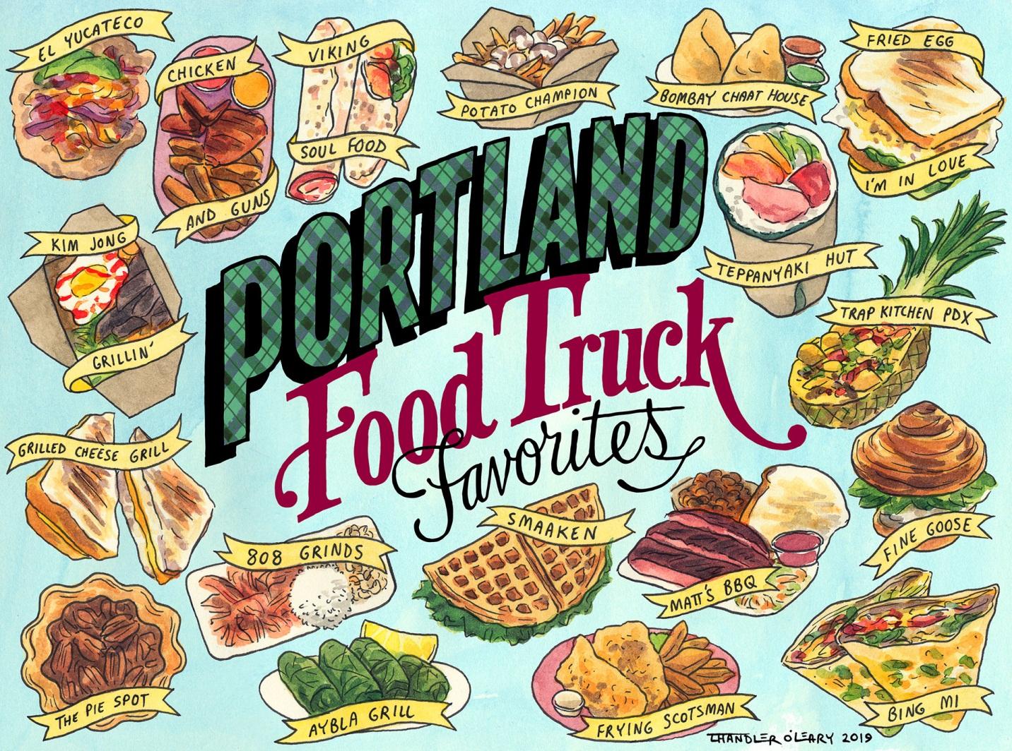 Portland Food Truck Favorites