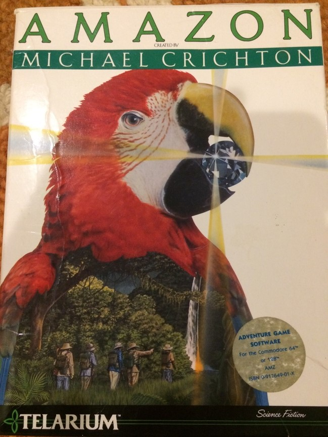 AMAZON created by Michael Crichton.