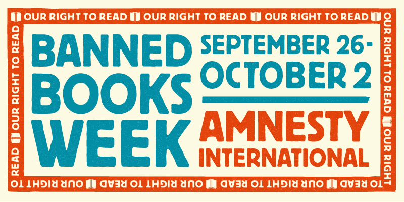 Banned Books Week 2021 Essay by Amnesty International