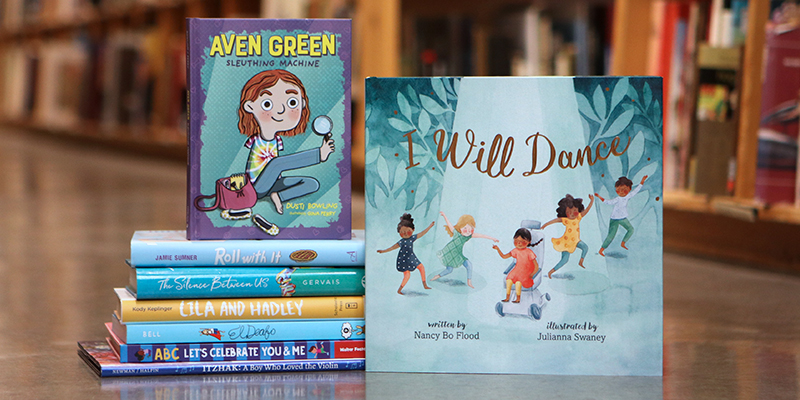 Kids' and Teen Recommendations for Disability Pride Month