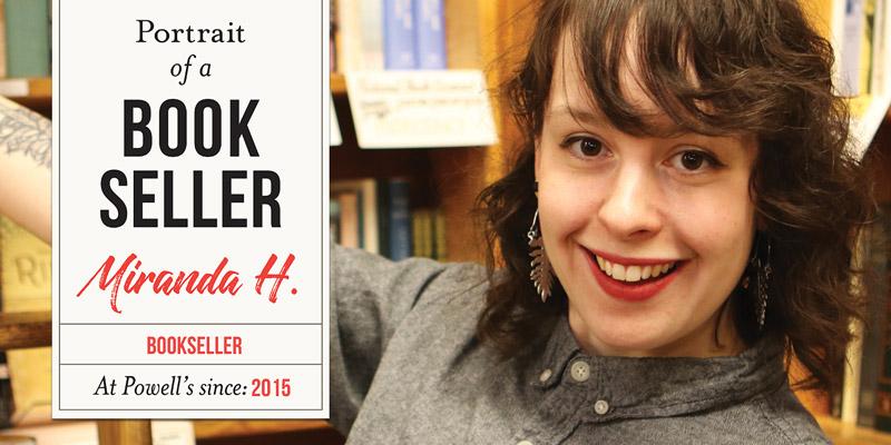 Portrait of a Bookseller: Miranda H.