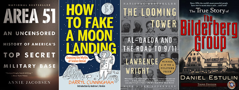 Books About America's Enduring Conspiracy Theories