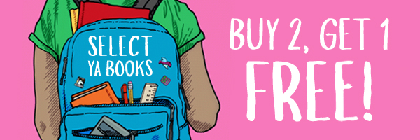 Select YA Books: Buy 2, Get 1 Free!