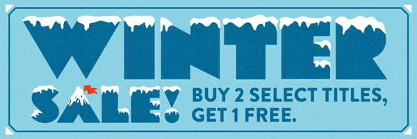 Winter Sale: Buy 2 Select Titles, Get 1 Free