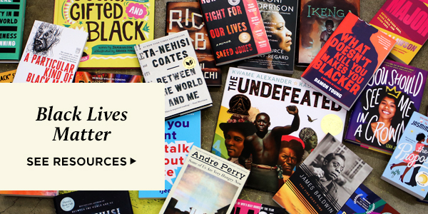 Black Lives Matter: resources, reading lists, and our commitment