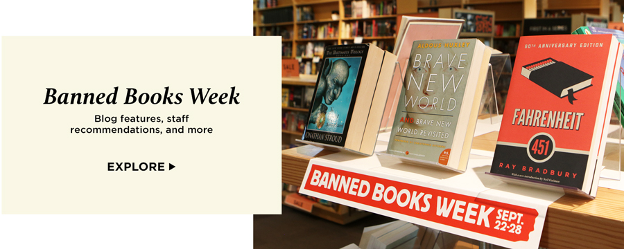 Banned Books Week - Blog features, staff recommendations, and more - Explore