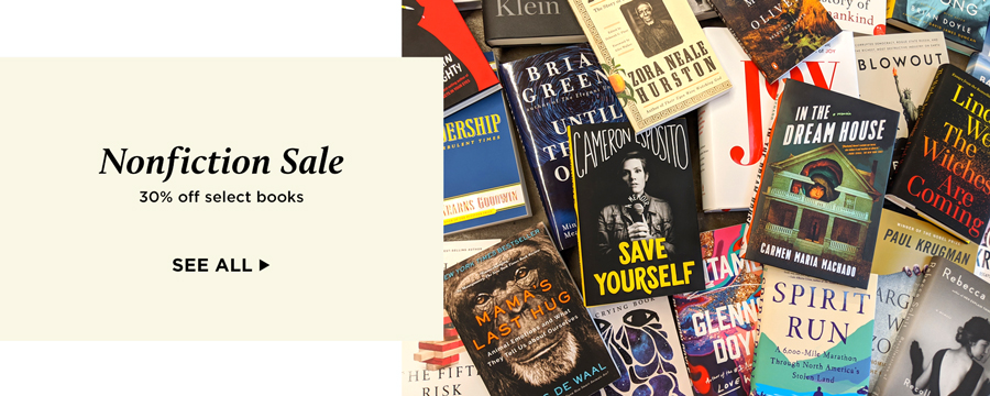 Nonfiction Sale: 30% off select books