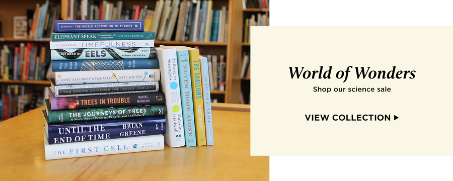 World of Wonders science sale: 20% off select books