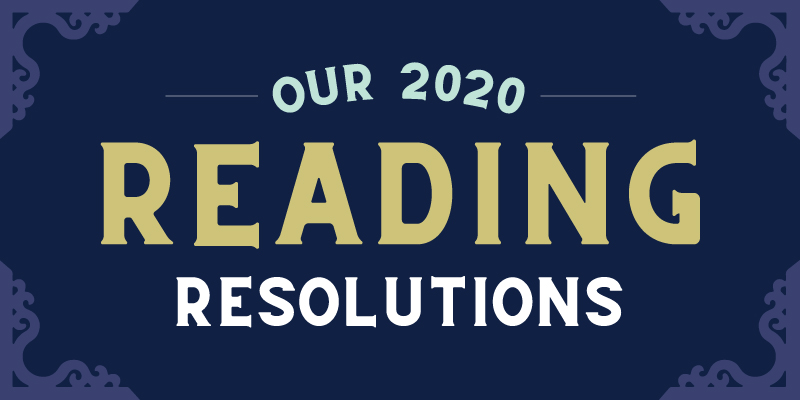 Powell's Books 2020 Reading Resolutions