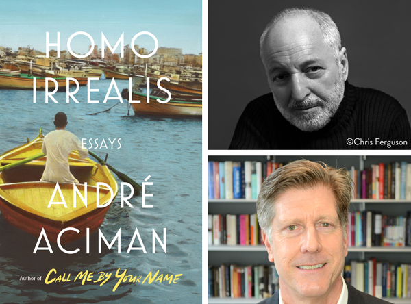 André Aciman in Conversation With Jonathan Burnham