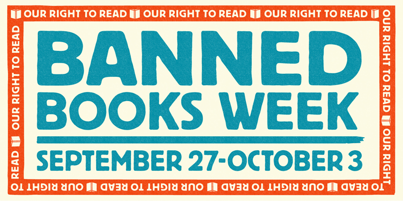 Find Your Voice, Tell Your Story: Banned Books Week 2020