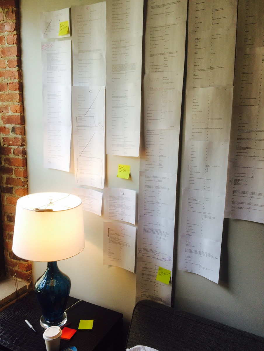 The author's workspace.