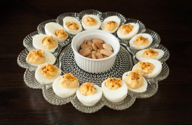Miso-Lemon Deviled Eggs
